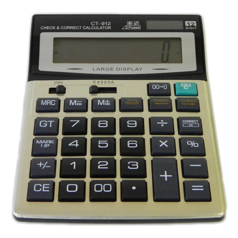 Calculator electronic CT-912, oprire automata 2021 shopu.ro