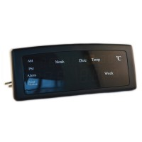 Ceas digital Caixing CX-868, LED, Negru