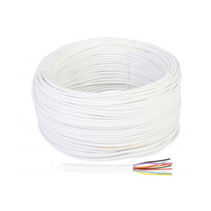 Cablu telefon/alarma YTDY Cabletech, 10 fire, rola 100 m
