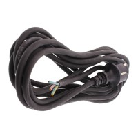 Cablu alimentare Well, fisa Schuko cu impamantare, 3 x 1.5 mmp, 3 m, uz extern, Negru
