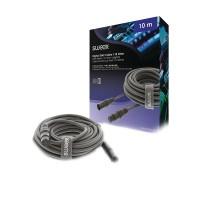 Cablu audio stereo Sweex, XLR 5-Pini tata, XLR 5-Pin mama, 10 m, Gri