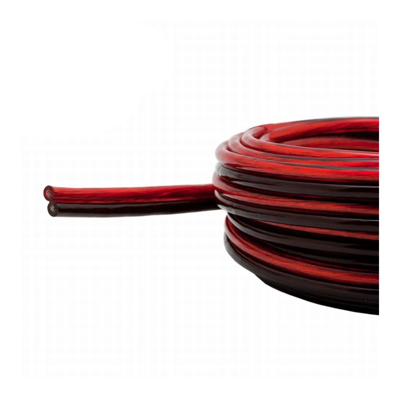Cablu pentru difuzor Carguard, 2 x 1.5 mm2, 20 m, Rosu/Negru 2021 shopu.ro