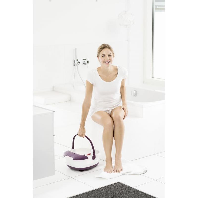 Cadita de masaj Beurer FB21, 3 accesorii interschimbabile