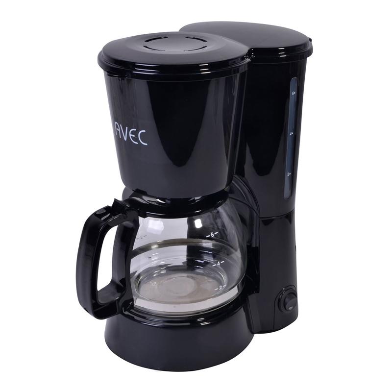 Cafetiera Avec, 650 W, 750 ml, 6 cani, filtru inclus 2021 shopu.ro