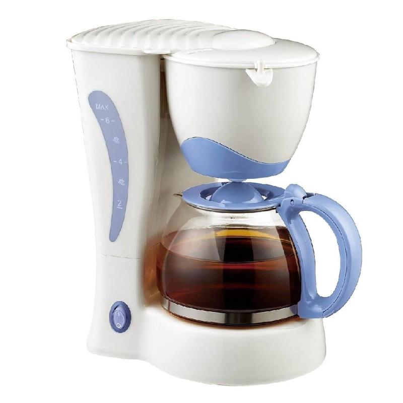 Cafetiera Sapir, 550 W, 600 ml, 6 cesti, sistem anti-picurare