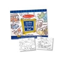 Caiet jumbo cu desene pentru colorat