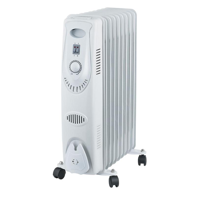 Calorifer pe ulei Digi 0.1, 2000 W, 9 elementi, 3 trepte, termostat reglabil 2021 shopu.ro