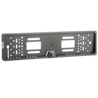 Camera auto integrata in suport de numar JX 9488, negru