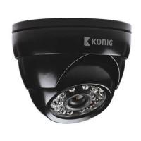 Camera de securitate tip Dome, 700 TVL, LED, senzor 1/4 CMOS