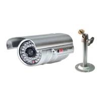Camera de supraveghere de exterior cu lentila fixa LC36-100