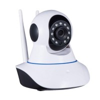 Camera de supraveghere wireless Live Robot, tehnologie Night Vision, senzor miscare, control la distanta, microfon, rotire 360 grade