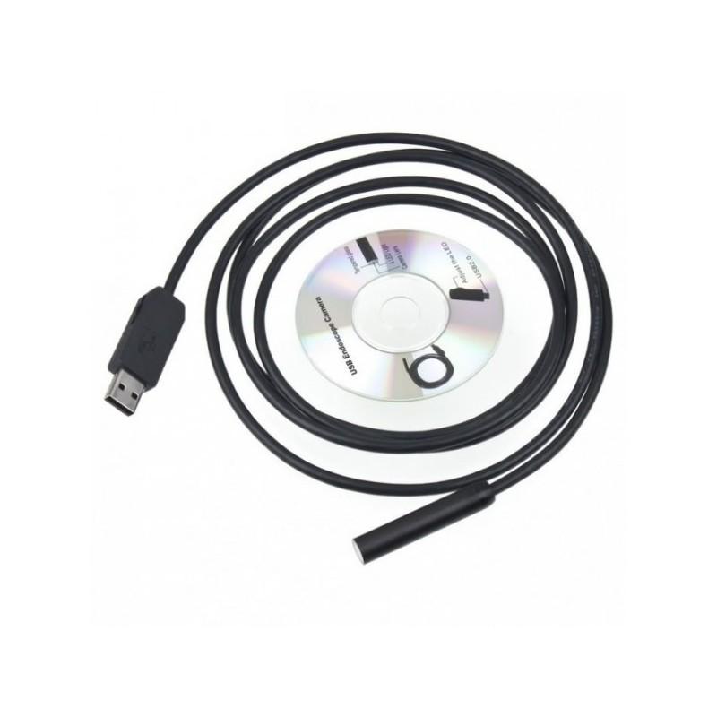 Camera endoscopica cu USB si lungime 5 m 2021 shopu.ro