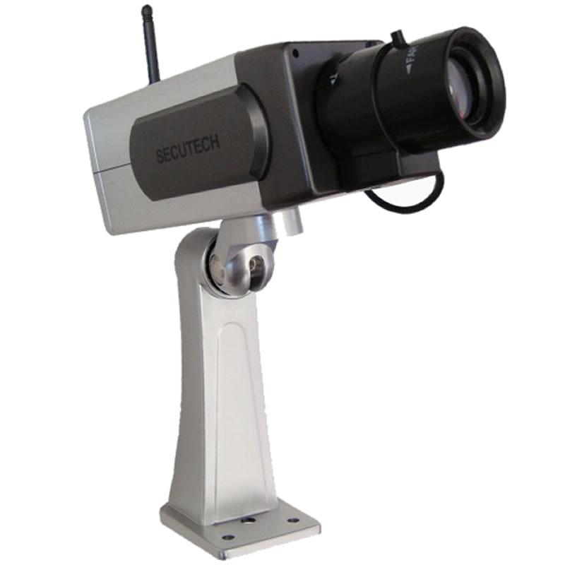 Camera falsa cu senzor de miscare PT-1400A, unghi rotatie 45 grade 2021 shopu.ro