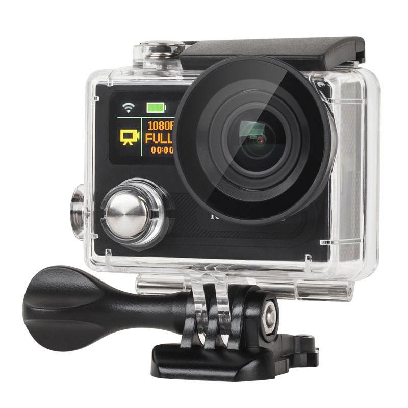 Camera sport de actiune 4K Kruger Matz KM 198, unghi 170 grade, senzor video Sony