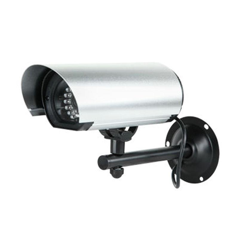Camera supraveghere falsa dummy camera, LED-uri IR si senzor de amurg