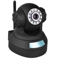 Camera video wireless IP, P2P, Negru