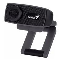Camera web Genius, 1280 x 720 px, USB 2.0, microfon incorporat, Negru