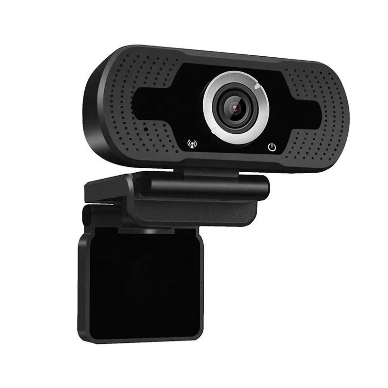 Camera web In One, 1080 P, USB 2.0, FullHD, trepied inclus, microfon incorporat, Negru 2021 shopu.ro
