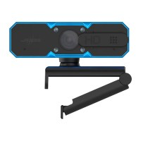 Camera web uRage, HD 720p, 60 FPS, 1280 x 720 px, iluminare LED, Negru