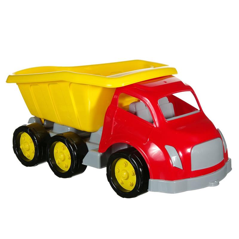 Camion cu remorca, 58 cm, Multicolor 2021 shopu.ro