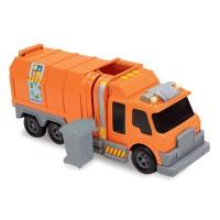 Camion reciclare deseuri, sunete si lumini, 3 ani+