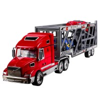 Camion tip transportor Superior, 3 masini incluse, 3 ani+
