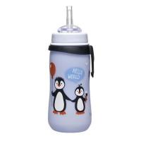 Cana Straw Cup Penguin Nip, 330 ml, 12 luni+, pai flexibil