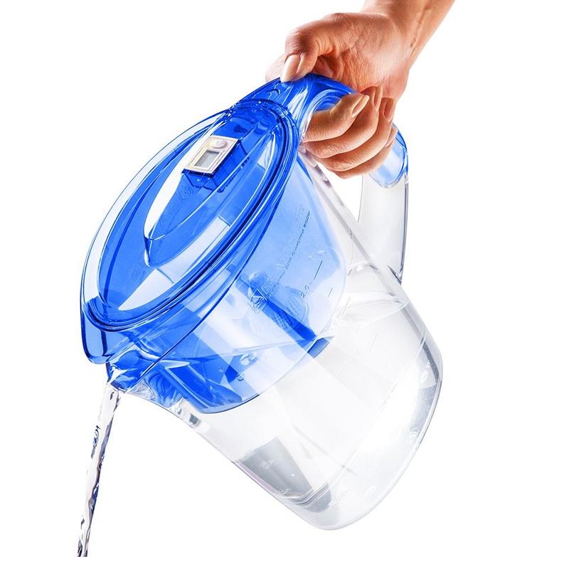 Cana de filtrare apa Barrier Premia, 2.5 l, Albastru
