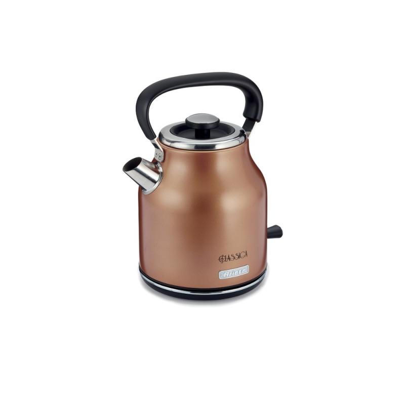 Cana electrica Ariete Classic, 2000 W, 1.7 L, filtru detasabil, baza rotativa, oprire automata, Cupru 2021 shopu.ro