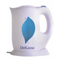 Cana fierbator Dekassa DK1705, 1.7 l, Alb