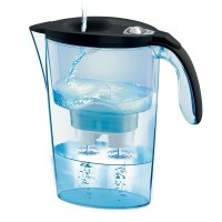 Cana filtranta Laica Stream Mechanical, 2.3 l, Negru