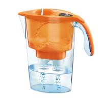 Cana filtranta de apa Laica Stream, 2.3 l, Orange