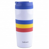 Cana termos Dekassa, 400 ml, tricolor