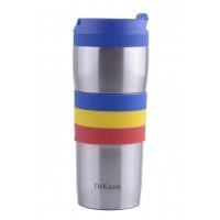 Cana termos inox Dekassa, 400 ml, tricolor