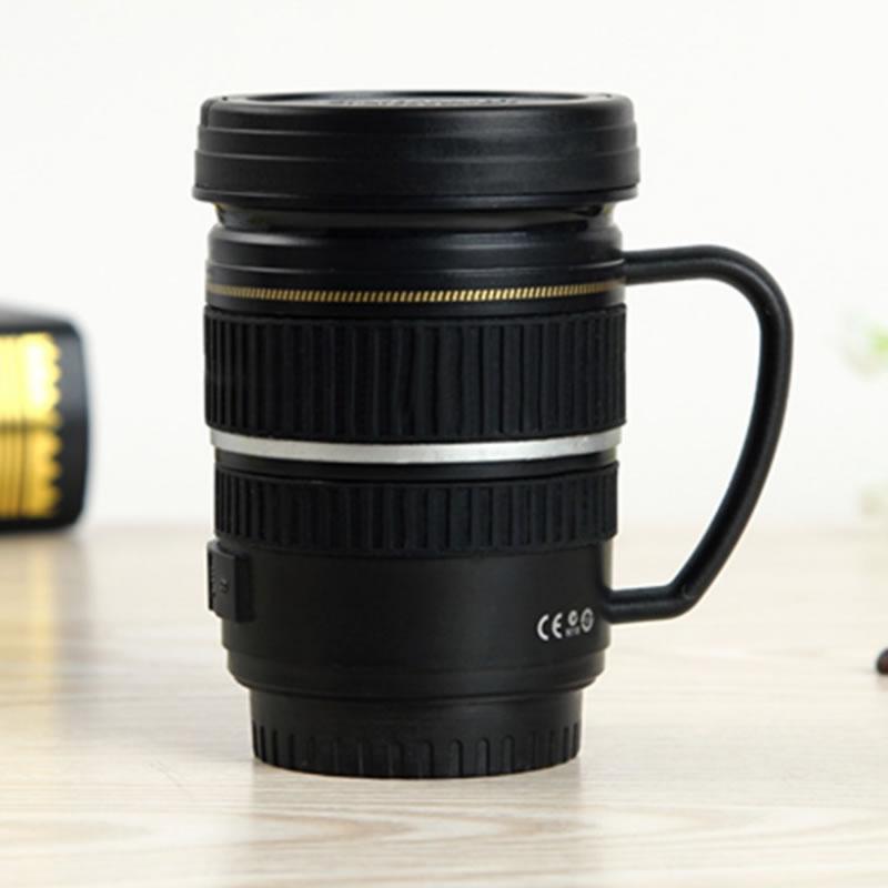 Cana termos cu maner, 250 ml, forma obiectiv foto