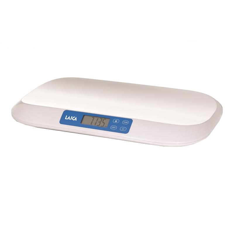 Cantar Smart pentru bebelusi Laica, 20 kg, ecran LCD, functie TARA 2021 shopu.ro
