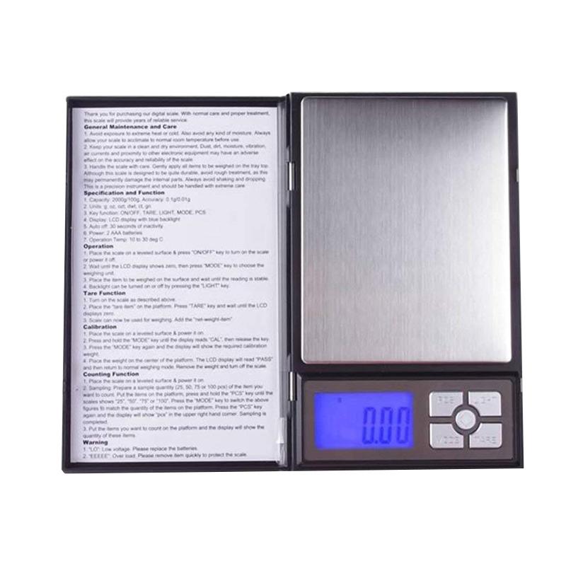Cantar bijuterii Notebook, 500 g, functie Tare 2021 shopu.ro