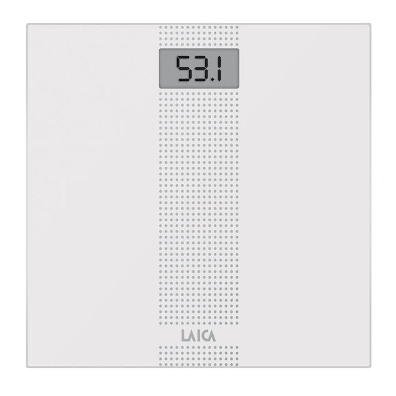 Cantar corporal Laica PS1054, 150 kg, Alb