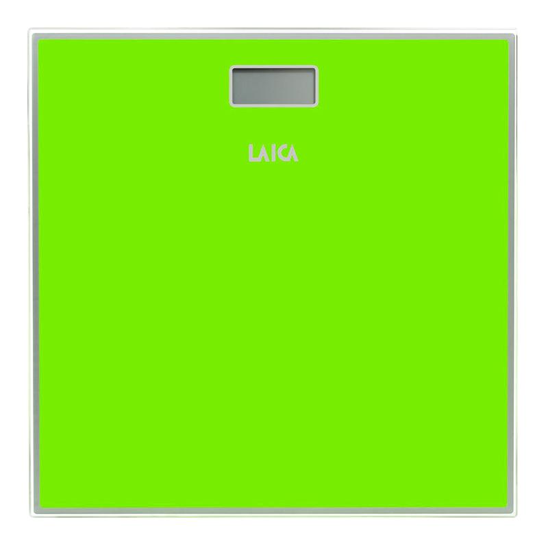 Cantar corporal Laica, 150 kg, ecran LCD, Verde 2021 shopu.ro