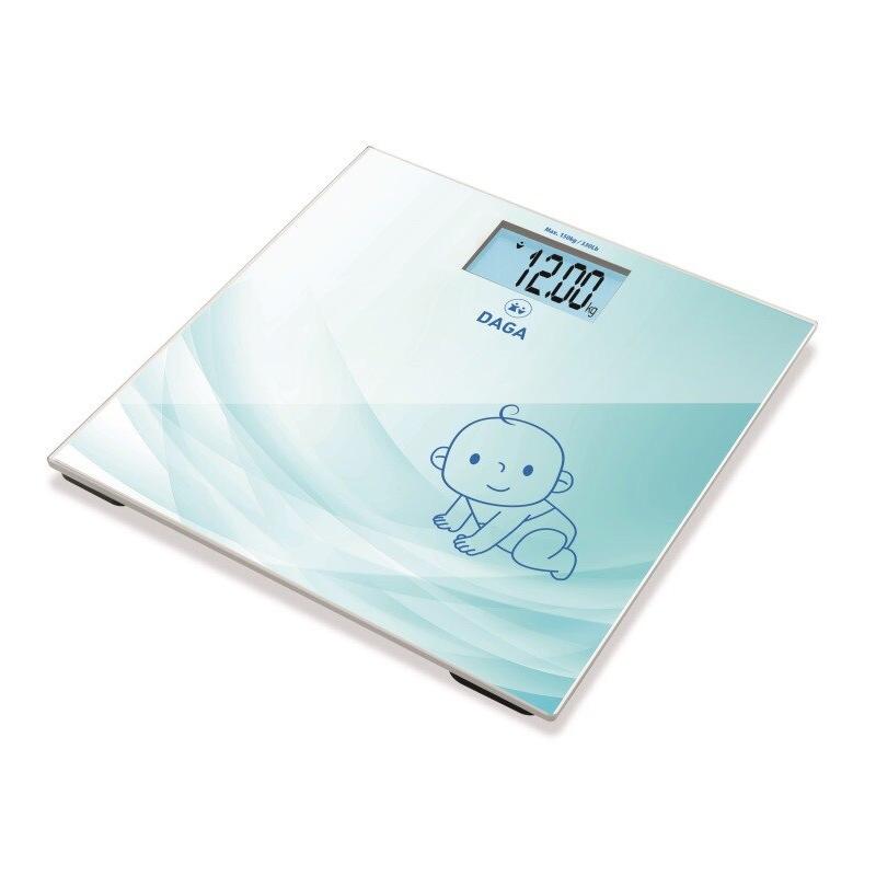 Cantar corporal adulti/bebelusi Daga, 150 kg, display LCD, functie TARA 2021 shopu.ro