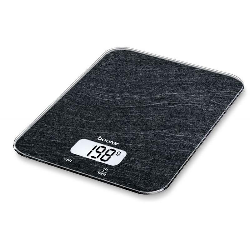Cantar de bucatarie Beurer KS19 Slate, 5 kg, taste senzori 2021 shopu.ro
