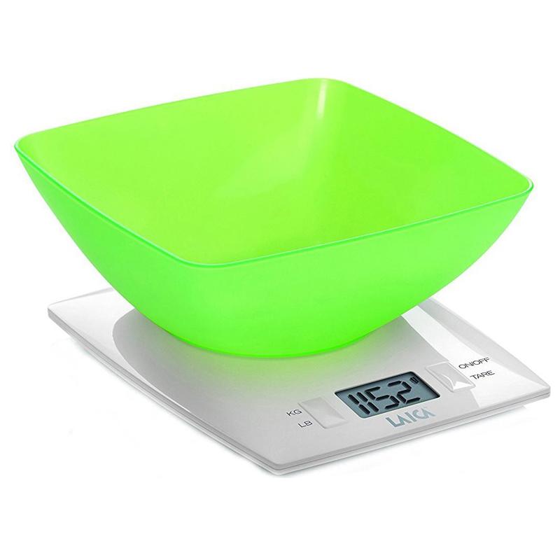 Cantar de bucatarie KS1012, 3 kg, LCD, Verde 2021 shopu.ro