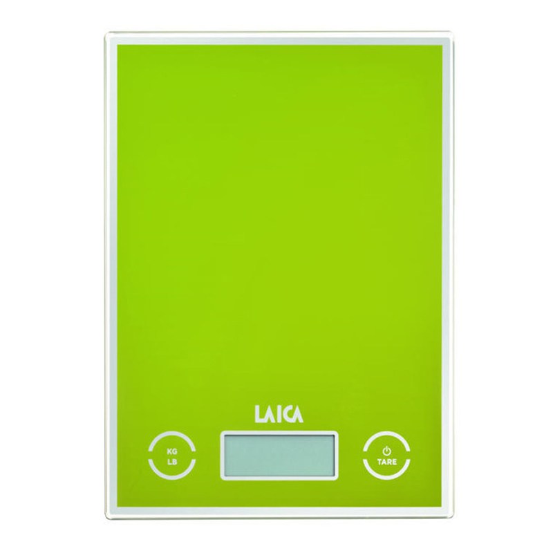 Cantar de bucatarie Laica, 5 kg, functie Touch-Senzor, TARA, Verde 2021 shopu.ro