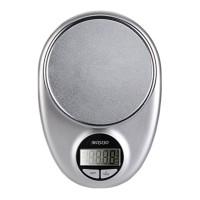 Cantar de bucatarie Mosiso, 5 kg, LCD, Argintiu