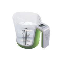 Cantar de bucatarie Dekassa DK-1284, digital, 3 kg, verde