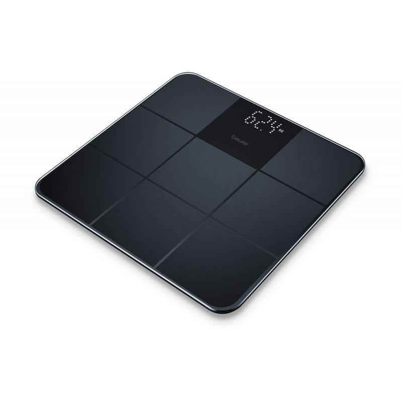 Cantar de sticla Beurer GS235, ecran LCD, invizibil, Negru 2021 shopu.ro