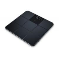 Cantar de sticla Beurer GS235, ecran LCD, invizibil, Negru