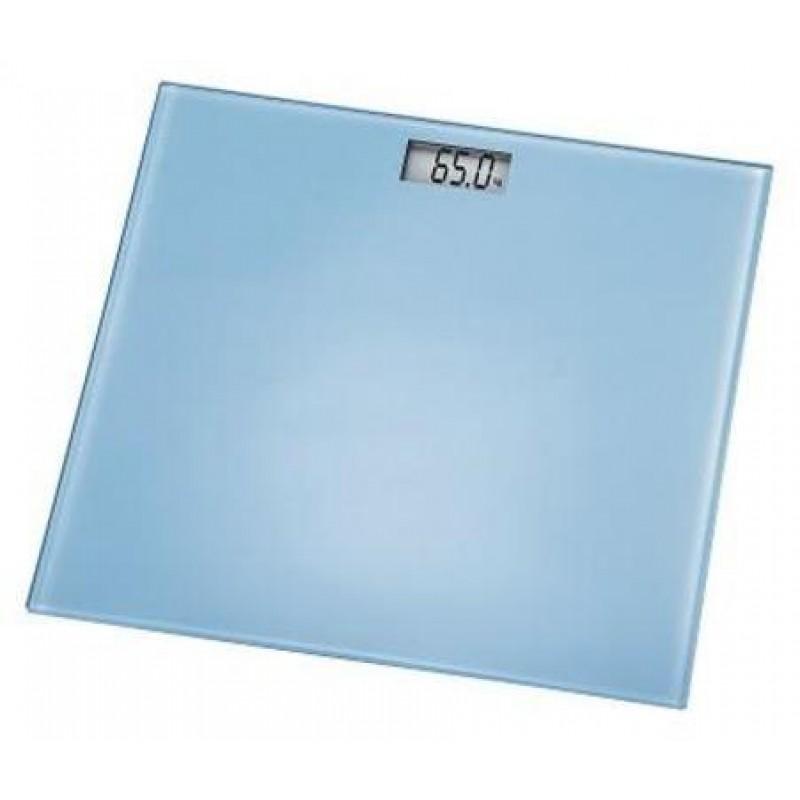 Cantar digital Emma Xavax, ecran LCD, 30 x 30 x 2 cm, sticla, maxim 150 kg, Albastru 2021 shopu.ro