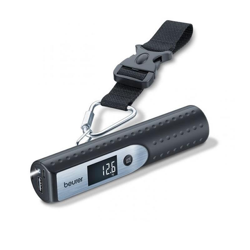 Cantar digital pentru bagaje Beurer LS50, functie de baterie, lanterna 2021 shopu.ro