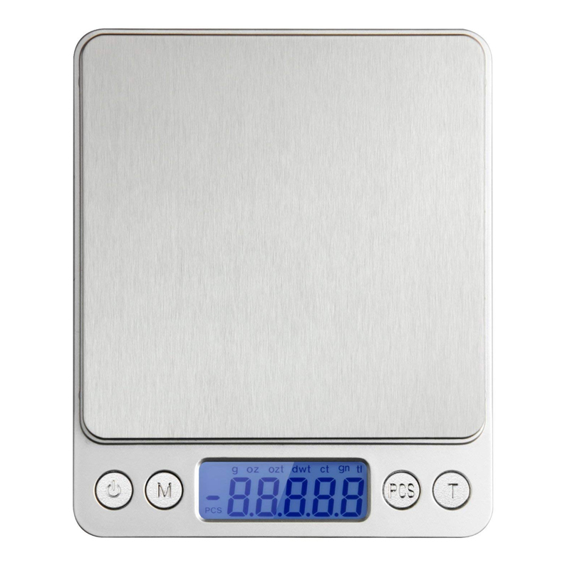 Cantar digital pentru bijuterii Top Scale, 500 g, LCD, 2 x AAA 2021 shopu.ro